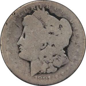 1881-S Morgan Dollar - Poor-1