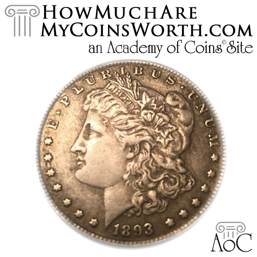 Counterfeit 1893-CC Morgan Dollar